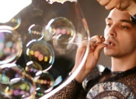 Номер с мыльными пузырями
